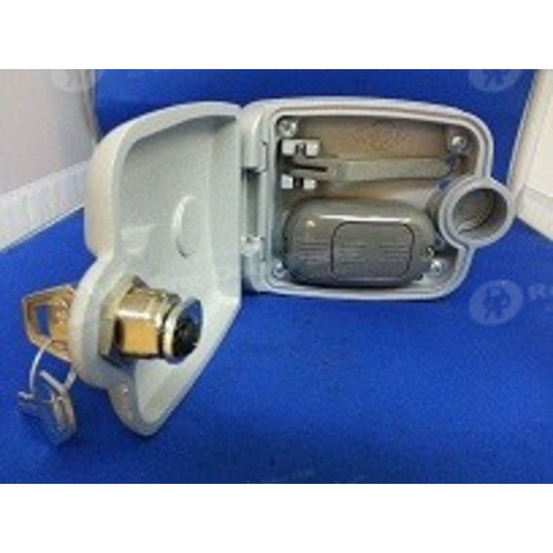 Lockout box for central motor rolling door parts Central motors