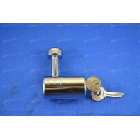 SINGLE SHACKLE LOCK FOR SLIDE BOLTS